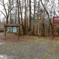 Signs along the Big Alabama Bayou.- Atchafalaya National Wildlife Refuge