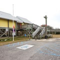 The visitor center.- Grand Isle State Park Campground
