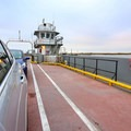 A free ferry ride is required to cross a shipping channel at the southern end of the Nature Drive.- Creole Nature Trail + All-American Road Scenic Byway