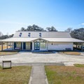 The visitor center at the Chalmette Battlefield offers exhibits and rangers ready to answer questions.- Jean Lafitte National Historical Park + Preserve