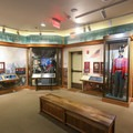 Exhibits inside the Chalmette Battlefield Visitor Center offer history on the War of 1812 and the significance of the Battle of New Orleans in the war.- Jean Lafitte National Historical Park + Preserve