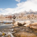 Sean Sullivan on the Big Lost River.- Winter Fly Fishing with Silver Creek Outfitters