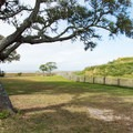Tranquil setting surrounding the old fort.- Fort Fisher State Recreation Area