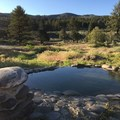 The upstream pool looking South.- East Fork Carson River Hot Springs