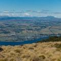 Open views of Te Anau.- New Zealand Great Walks: Kepler Track
