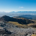 Mount Luxmore, high point on the track.- New Zealand Great Walks: Kepler Track