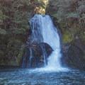 Iris Burn Falls.- New Zealand Great Walks: Kepler Track