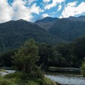 On the way up the valley.- New Zealand Great Walks: Milford Track