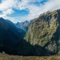 Looking back down the valley where you came from.- New Zealand Great Walks: Milford Track