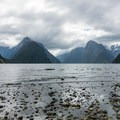 Milford Sound is frequently covered in clouds.- New Zealand Great Walks: Milford Track