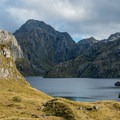 Lake Harris just below the saddle.- New Zealand Great Walks: Routeburn Track