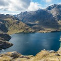Lake Harris.- New Zealand Great Walks: Routeburn Track