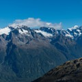 Dramatic peaks across the valley from Conical Hill.- New Zealand Great Walks: Routeburn Track