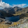 View of Lake Harris from Conical Hill.- New Zealand Great Walks: Routeburn Track
