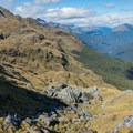 Big views from the Routeburn Track.- New Zealand Great Walks: Routeburn Track