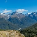 Panoramic views along the way.- New Zealand Great Walks: Routeburn Track