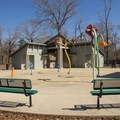 The Splash Pad offers kids (and adults) relief on hot summer days. - Chicot State Park
