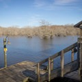 Some cabins come equipped with their own dock, making for easy access to the water. - Chicot State Park Campground + Cabins