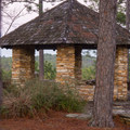 A lovely little structure found at Longleaf Vista.- Longleaf Scenic Byway