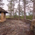 The stonework here is wonderful!- Longleaf Scenic Byway