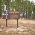 There are several informative signs along the side of the byway. - Longleaf Scenic Byway