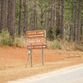 Coyote Camp is one of the several points of interest along the byway. - Longleaf Scenic Byway