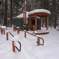 Yurt 34.- Link Creek Winter Yurt