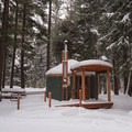 Yurt 32.- Link Creek Winter Yurt