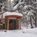Yurt 31.- Link Creek Winter Yurt