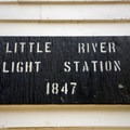 Little River Lighthouse was known as Little River Light Station.- Little River Lighthouse