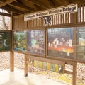 Lots of beautifully displayed information can be found at this kiosk near the headquarters unit. - Catahoula National Wildlife Refuge