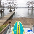 One of the more scenic boat ramps you'll see. - Lake Bruin Water Trail