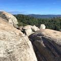 The Plumas National Forest surrounds Big Bald Rock. - Big Bald Rock