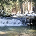 The first of the three waterfalls, Tolliver Falls, will greet you.- Swallow Falls State Park