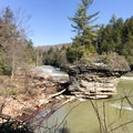 A view downriver.- Swallow Falls State Park