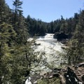 The Youghiogheny River.- Swallow Falls State Park
