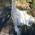 A view from the top of Muddy Falls.- Swallow Falls State Park