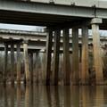 Highway and interstate bridges.- Bayou Jean de Jean