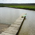 Boat ramp and dock on Franklin Canal.- Franklin + Bayou Teche Paddle Trails