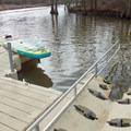 Canoe launch in Black Bayou Lake National Wildlife Refuge.- Black Bayou Lake Canoe Trail