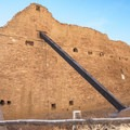 Supports have been added to some sections of walls.- Pueblo Bonito