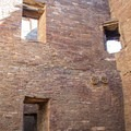 At one time many of the buildings had multiple stories.- Pueblo Bonito