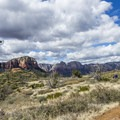 Looking east from Brins Mesa.- Brins Mesa via Jordan Road