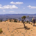 Great view to the west!- Golden Wall Trail Hike