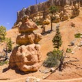 Fascinating rock formations abound.- Golden Wall Trail Hike