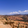 The east side of the Golden Wall.- Golden Wall Trail Hike