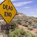 The Grafton turnoff.- Grafton Historic Settlement