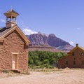 The church and this residence are two of the five historic structures remaining.- Grafton Historic Settlement