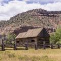Original barn building.- Grafton Historic Settlement
