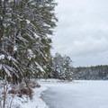 Meadow Lake.- Meadow Lake Trail Snowshoe